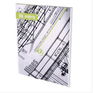 Bl. papel vegetal esquiço A3 (80folhas)