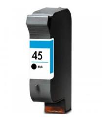Tinteiro Compatível HP nº 45 (51645A) Preto