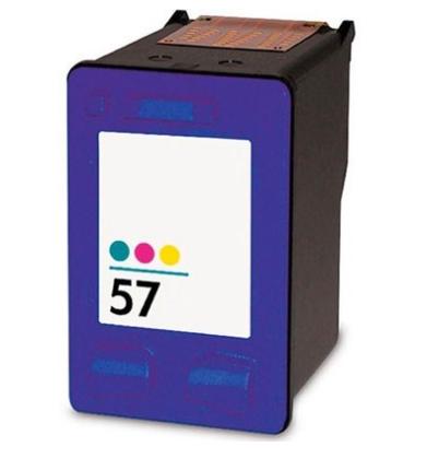 Tinteiro Compatível HP nº 57 (C6657A) Tricolor