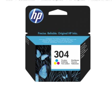 Tinteiro Original HP nº 304 Tri-color
