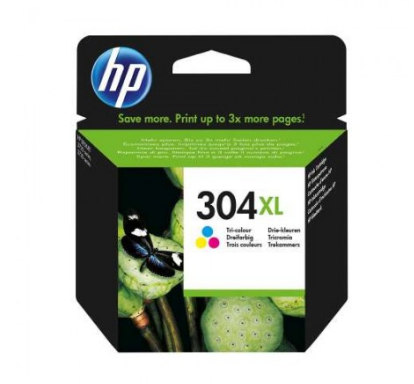 Tinteiro Original HP nº 304 XL Tri-color