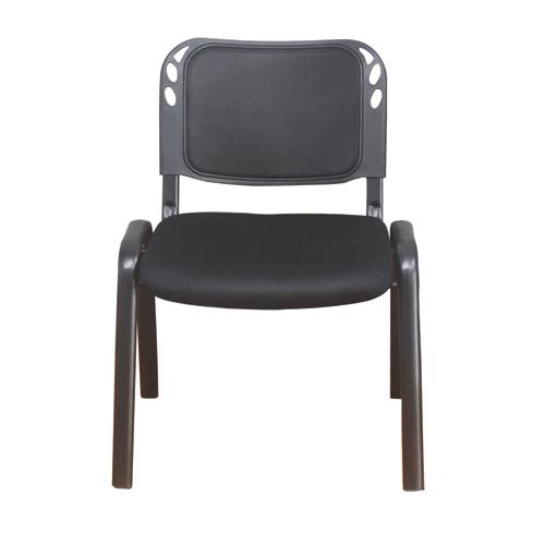 Cadeira conferencia fixa STR-0523A preta