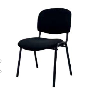 Cadeira Conferencia fixa STR-0522 Preta