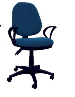 Cadeira Escritório STR-1 Azul