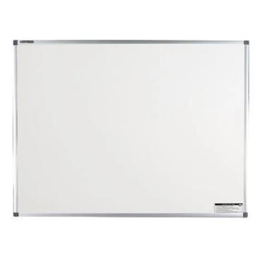 Quadro Branco cerâmica 90x120 cx. aluminio magnético