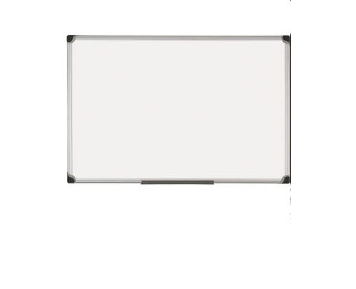 Quadro Branco cerâmica 120x250 cx. aluminio magnético