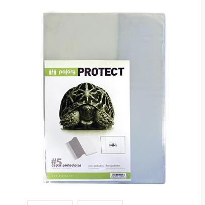 Bolsa para arquivo protege cadernos A4 120mic