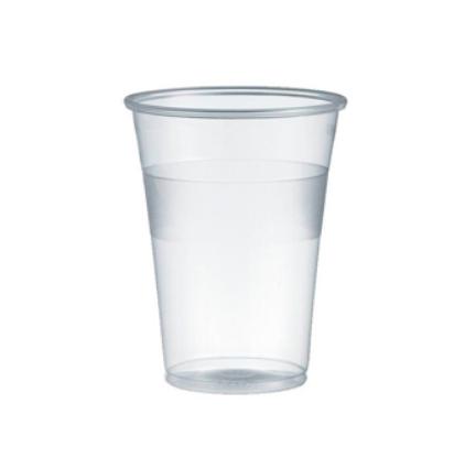 Copos Plastico Transparente (Agua / Cha) 200ml-(Pack100)