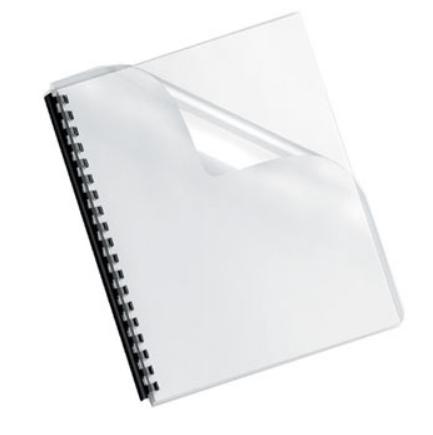 Acetato Encadernacao Transparente 200 microns A4 PACK 100un