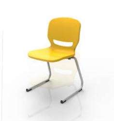 Cadeiras Ergos Shell Pole (várias cores)