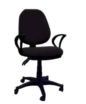 Cadeira Escritório STR-1 Preta NAPA