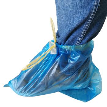 Cobre Sapatos c / Atilho Rolo Azul- 50un