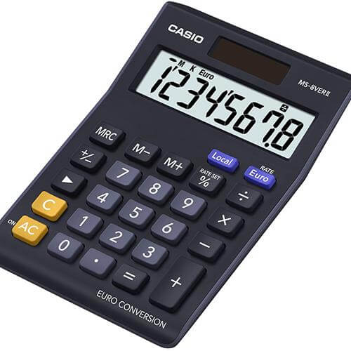 Calculadora Secretária CASIO MS-8VER