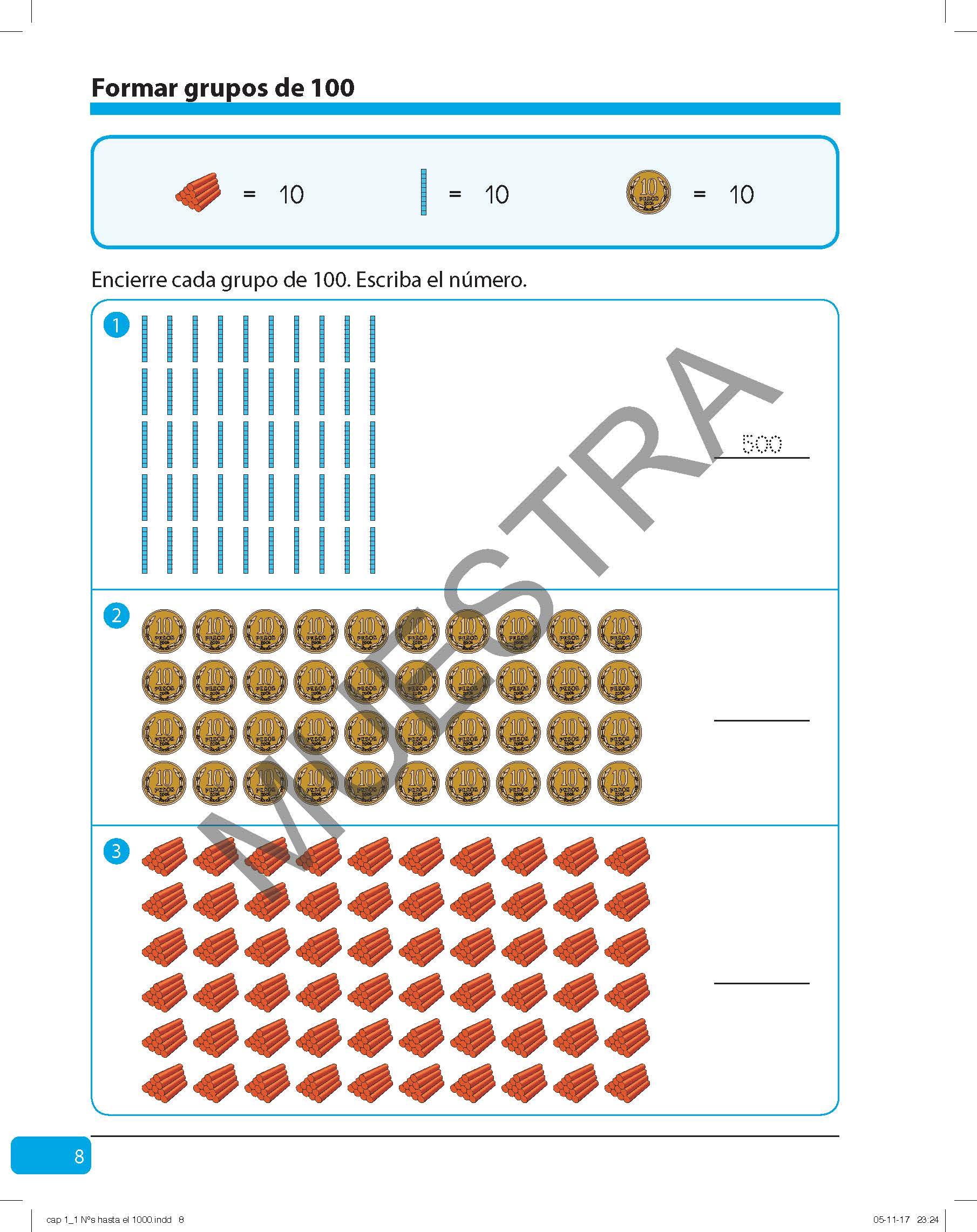Set de Matemáticas 3° básico (Edición tradicional 2020 - Tomo 1, 2 y 3)