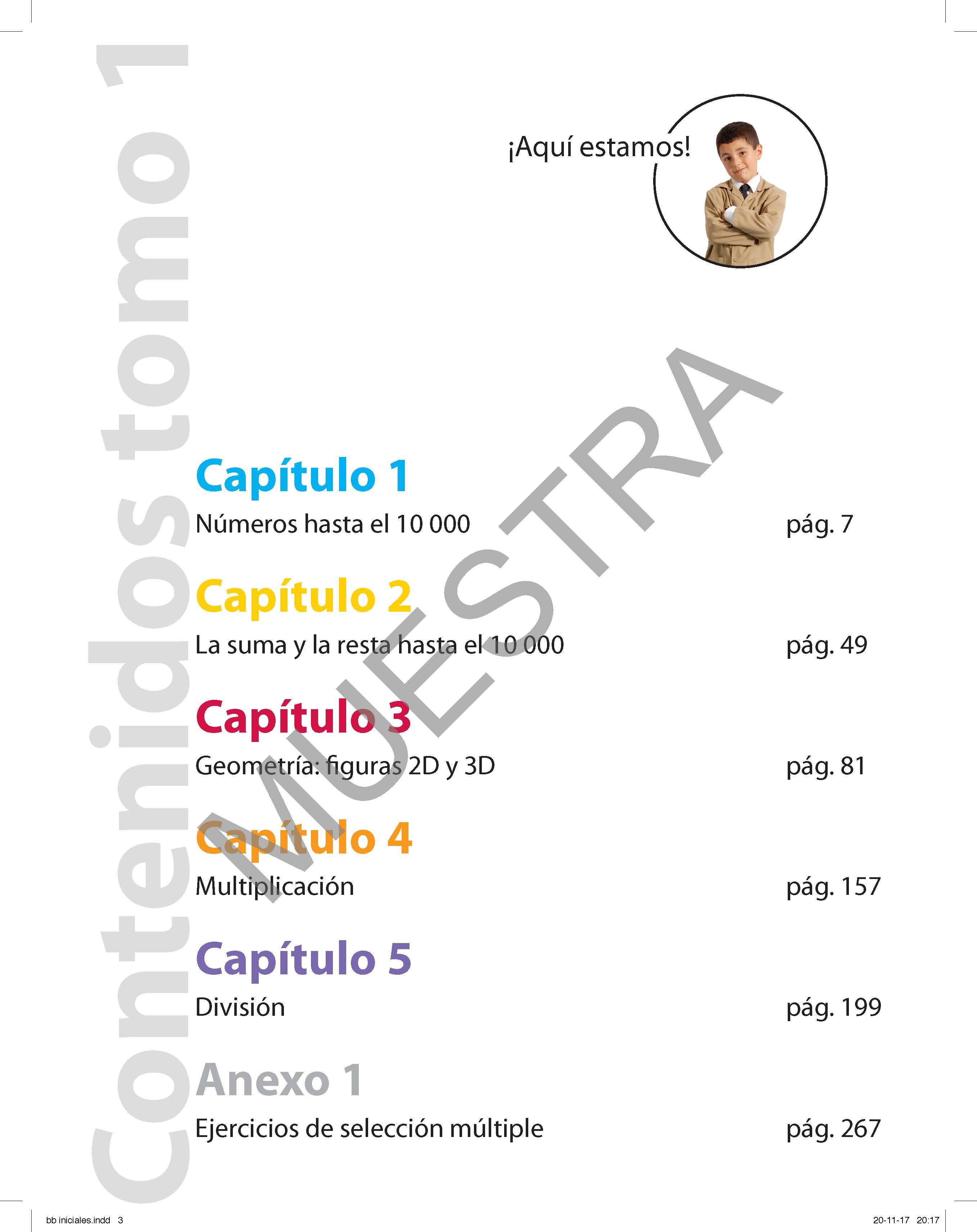 Set de Matemáticas 4° básico (Tomo 1, 2 y 3)