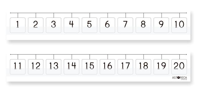 Caja de matemáticas 1° básico