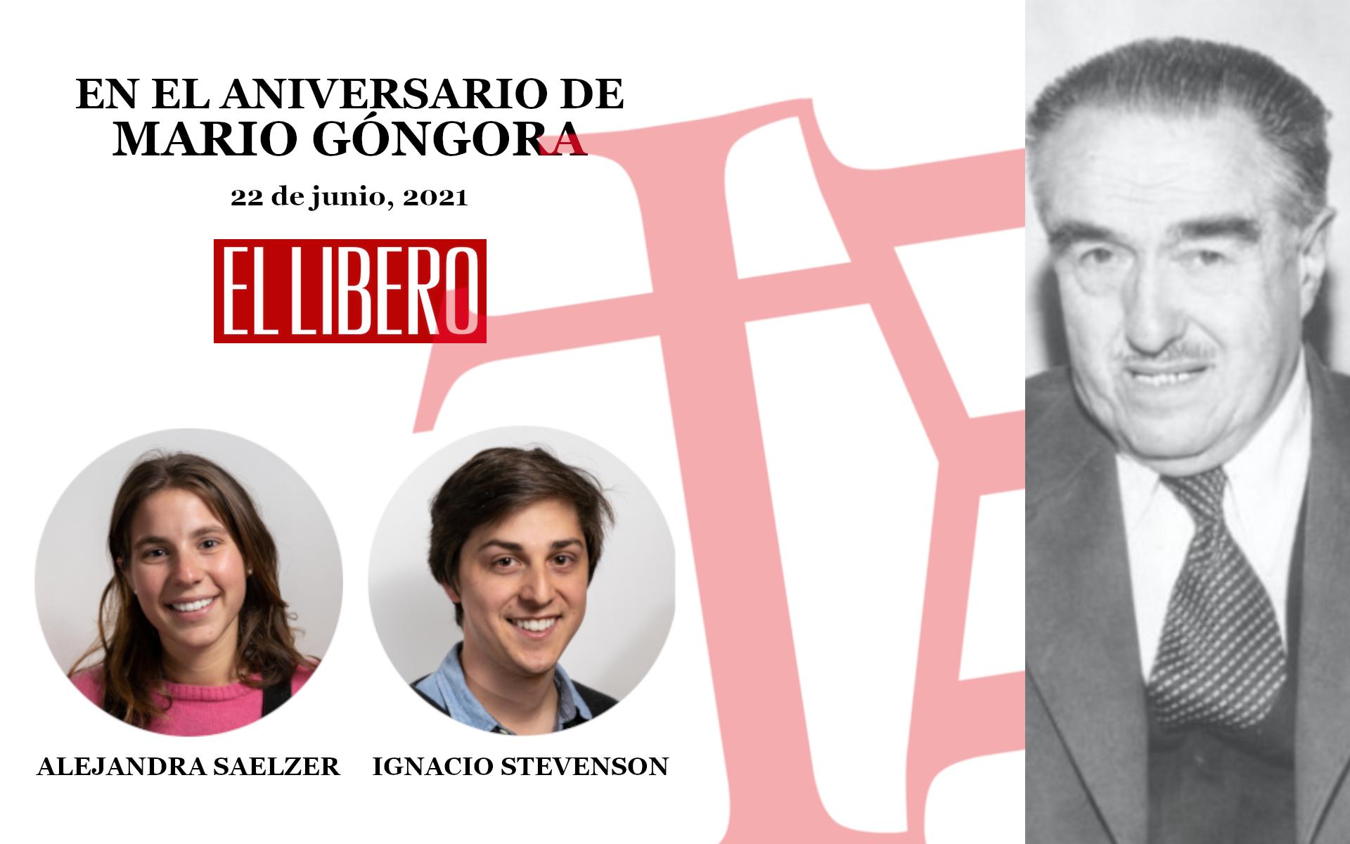 En el aniversario de Mario Góngora
