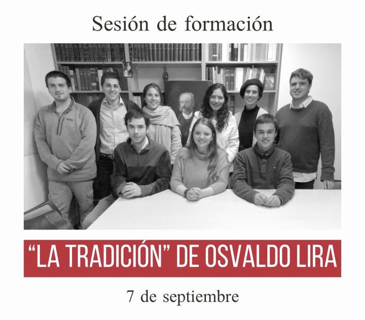 Sesión de formación: la tradición [7.09.2021]