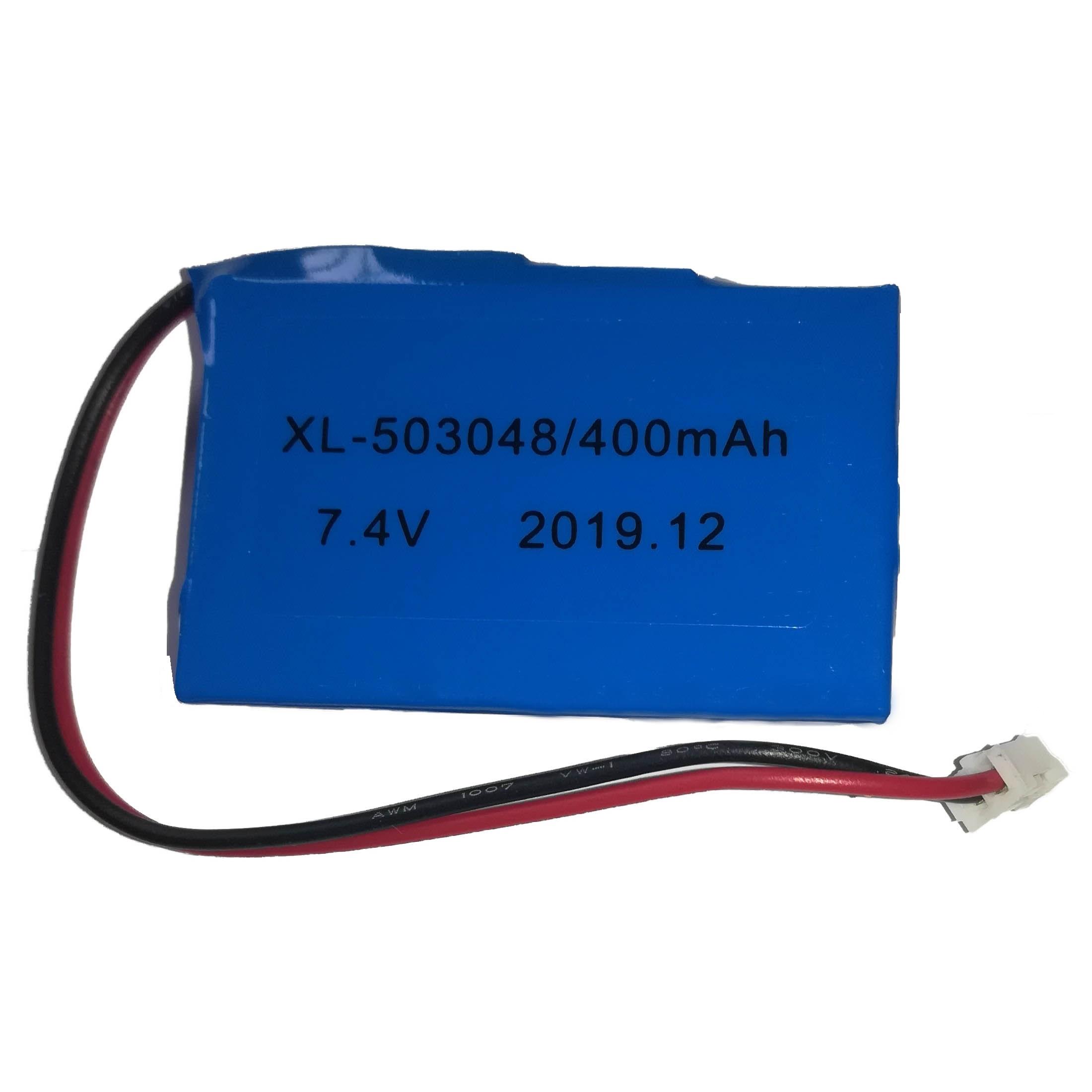Batería de Respaldo para Alarma CQN 400MA/7.4V