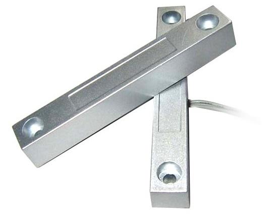 Sensor Alámbrico Magnético Metálico Para Puertas y Ventanas