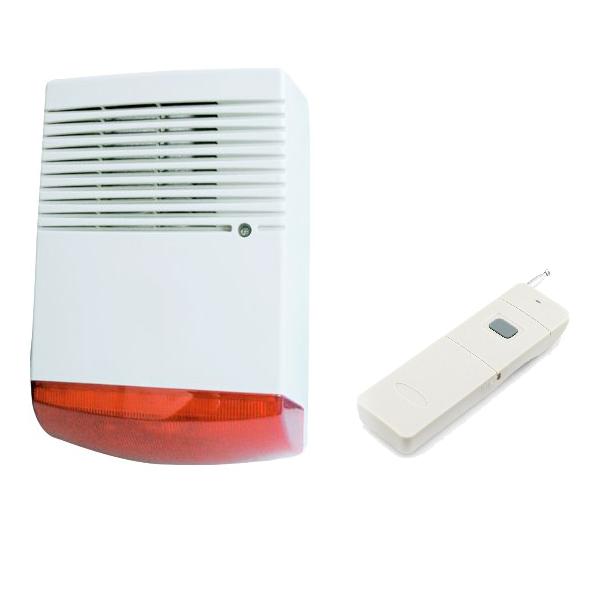 Sistema de alarma comunitaria RF botón de pánico 5Km 20 usuarios