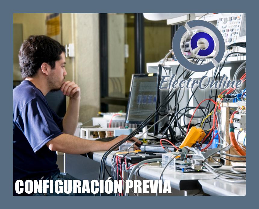 Configuración Previa Servicio Técnico Personalizado