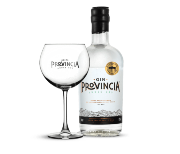 Gin Provincia Andes Dry + Copón