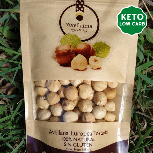 Snack Avellana Europea Tostada Premium 125g - Avellaima