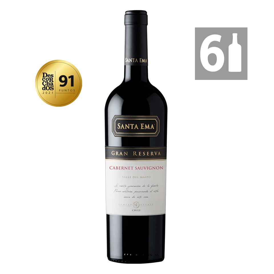 Pack 6 Cabernet Sauvignon Gran Reserva - Viña Santa Ema