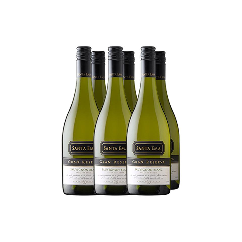 Pack 6 Sauvignon Blanc Gran Reserva - Viña Santa Ema