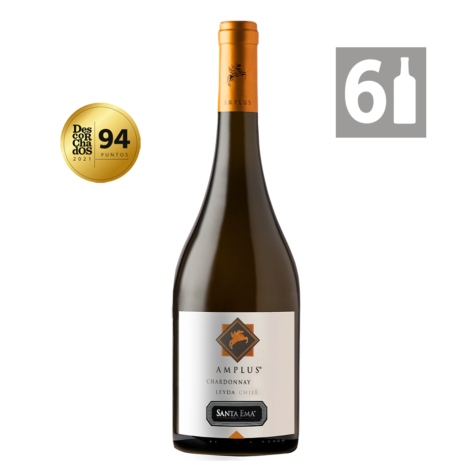 Pack 6 Amplus Chardonnay - Viña Santa Ema