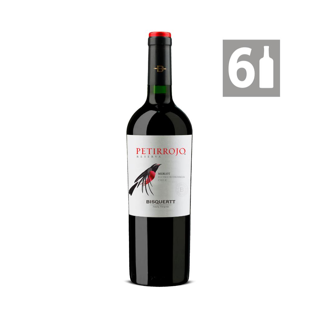 Petirrojo Merlot Reserva  - Viña Bisquertt