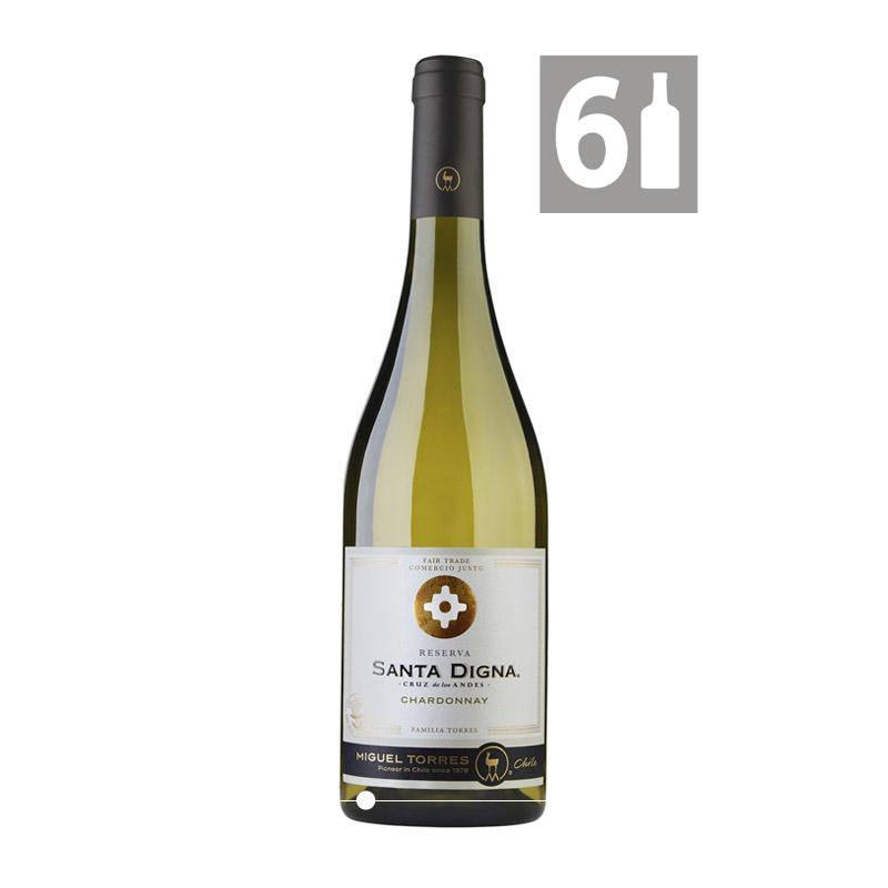 Pack 6 Chardonnay Gran Reserva Santa Digna - Viña Miguel Torres