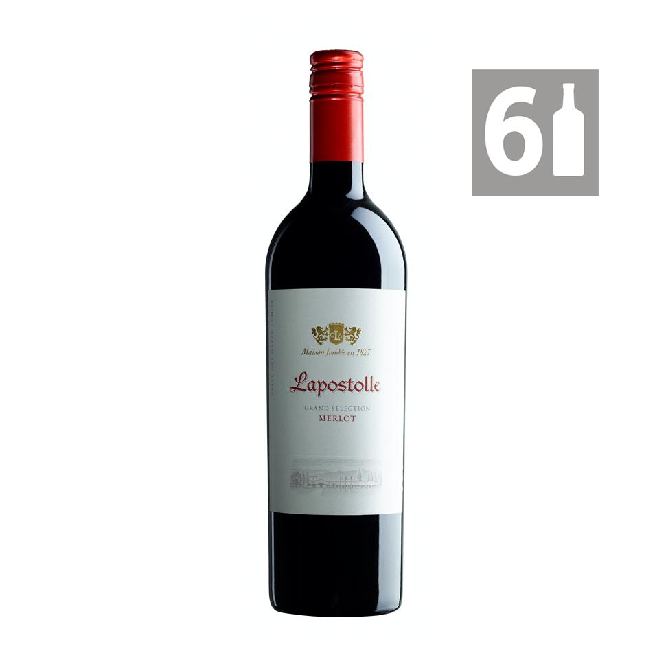 Pack 6 Merlot Grand Selection - Viña Lapostolle