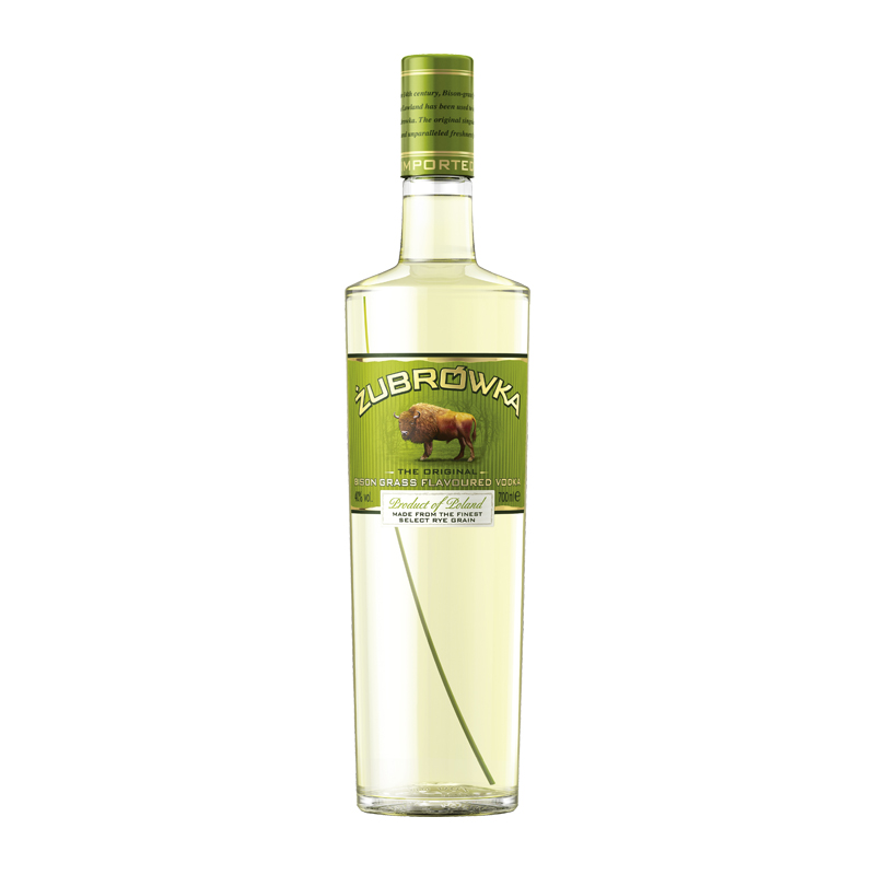 Zubrowka Bison Grass VODKA - Polonia