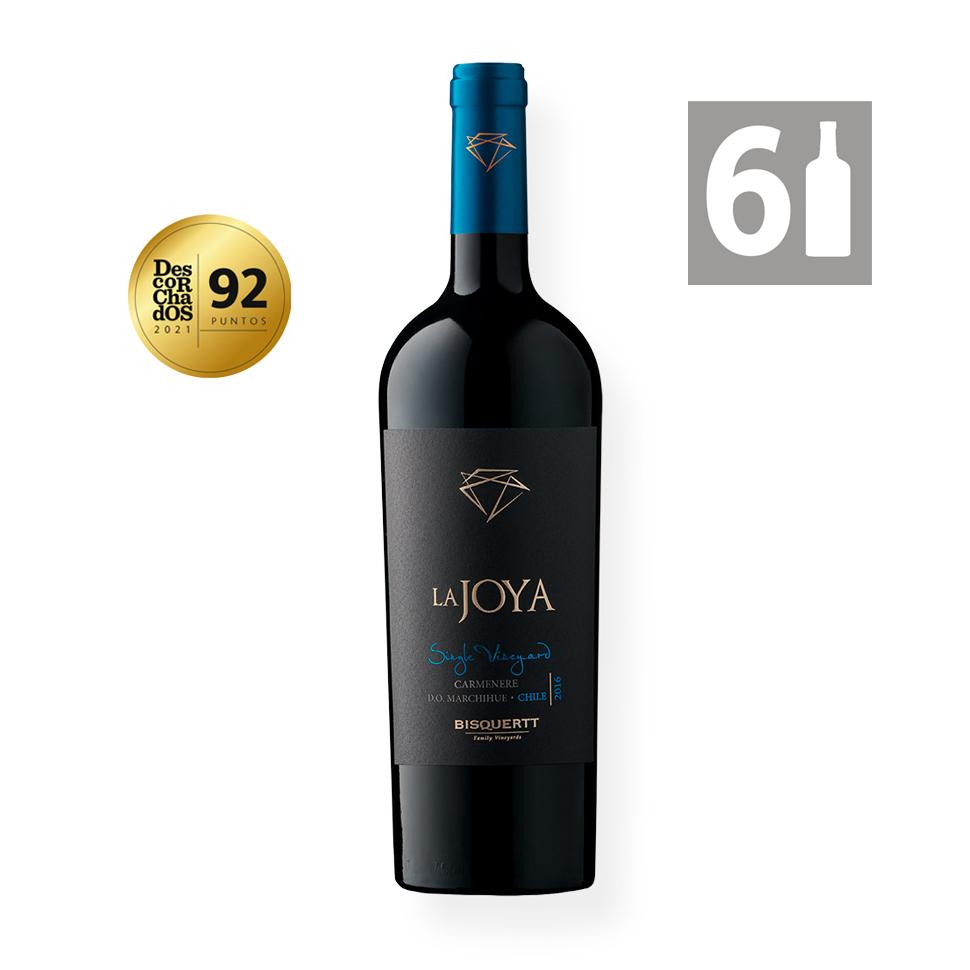 Pack 6 La Joya Single Vineyard Carmenere - Viña Bisquertt