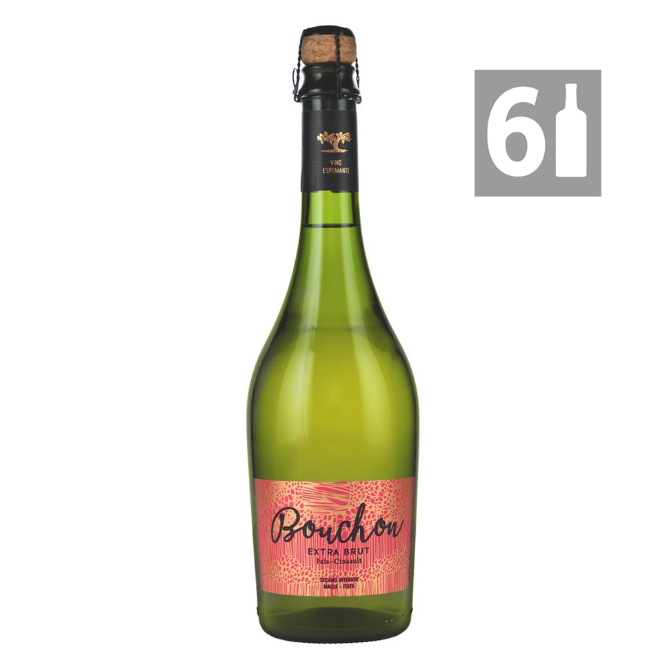 Pack 6 Espumante Extra Brut - Viña Bouchon