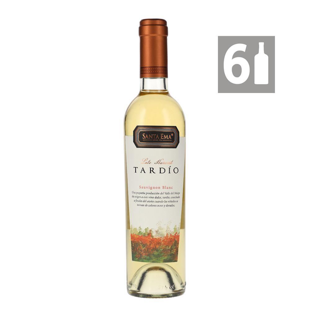 Pack 6 Late Harvest Tardío Sauvignon Blanc - Viña Santa Ema