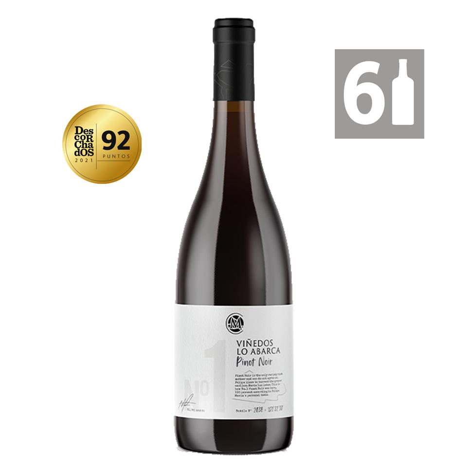 Pack 6 Lo Abarca No. 1 Pinot Noir - Viña Casa Marín