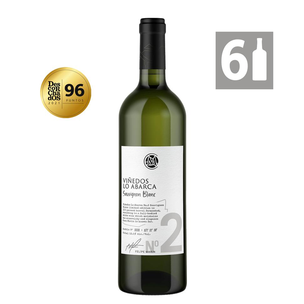 Pack 6 Lo Abarca No. 2 Sauvignon Blanc 2018 - Viña Casa Marín