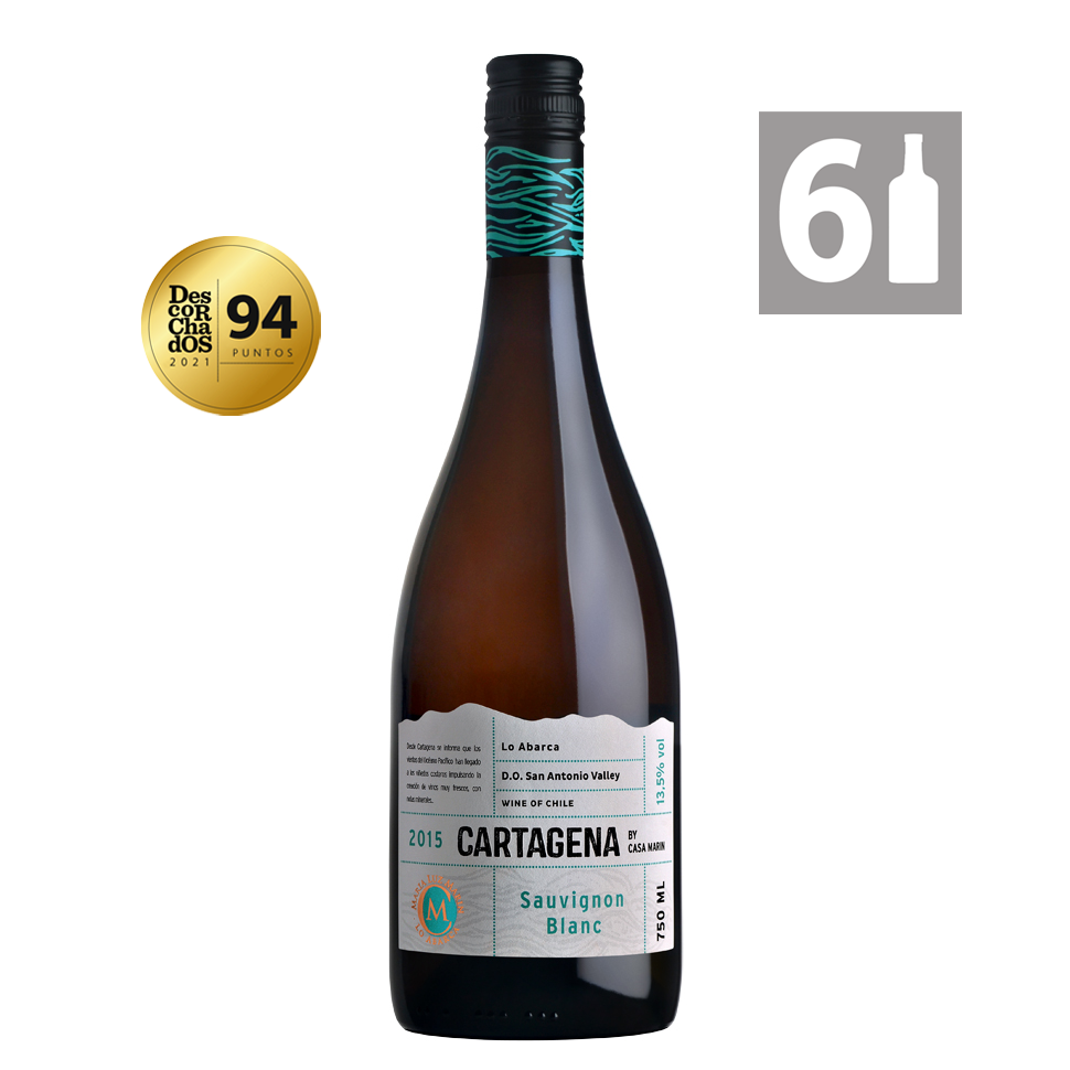 Pack 6 Cartagena Sauvignon Blanc - Viña Casa Marín