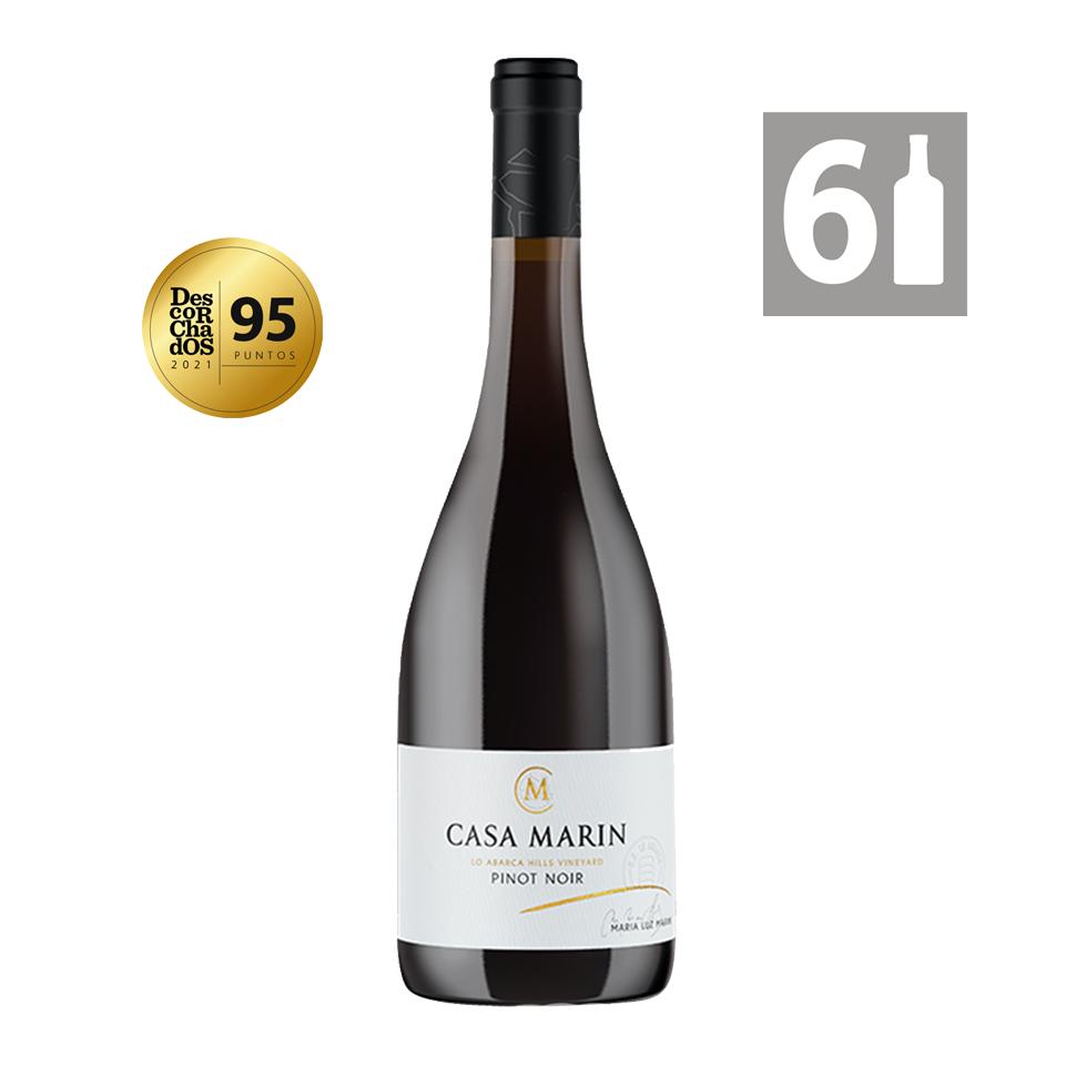 Pack 6 Lo Abarca Hills Pinot Noir - Viña Casa Marín