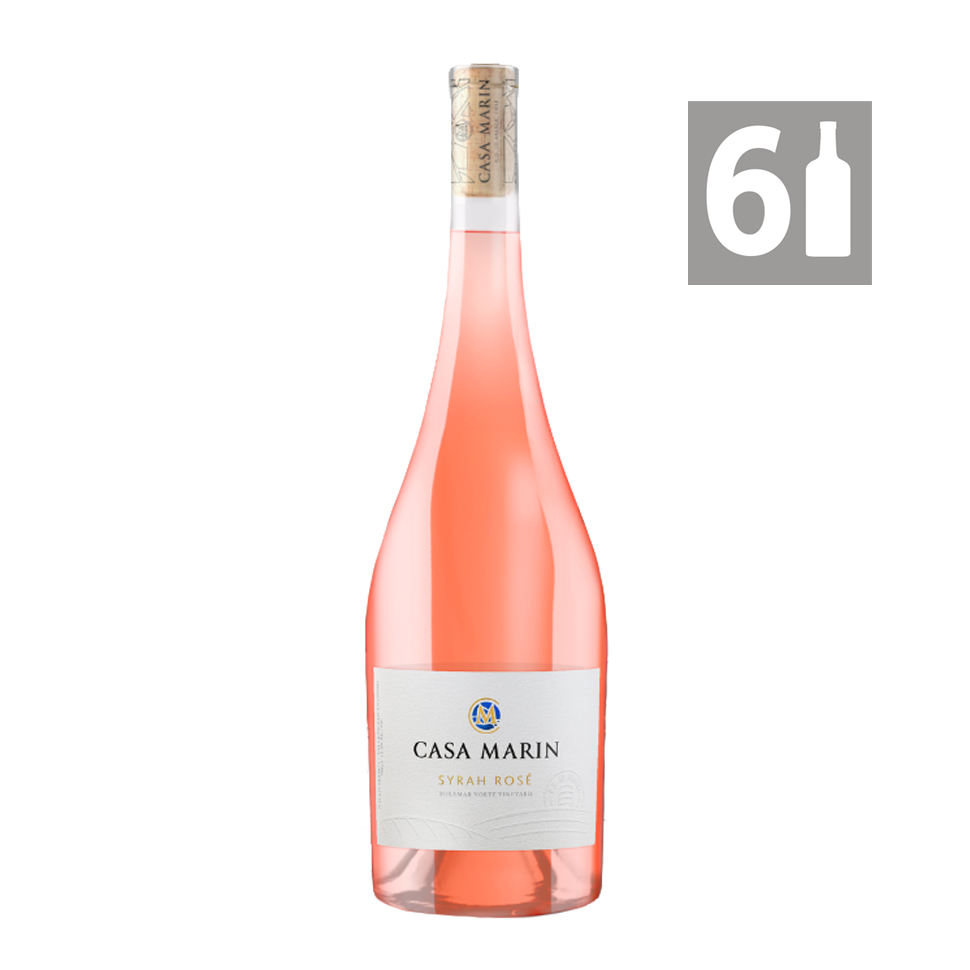 Pack 6 Rosé Miramar Norte - Viña Casa Marín
