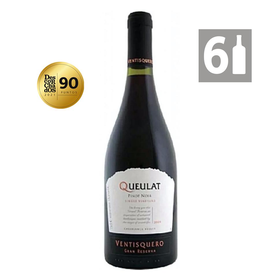 Pack 6 Queulat Pinot Noir Gran Reserva
