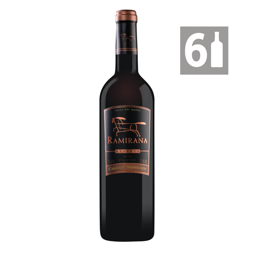 Pack 6 Cabernet Sauvignon Gran Reserva 2012 - Viña Ramirana