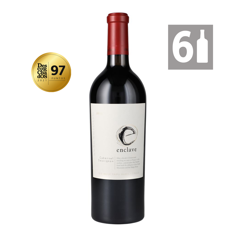 Pack 6 Enclave Cabernet Sauvignon Grandes Vinos