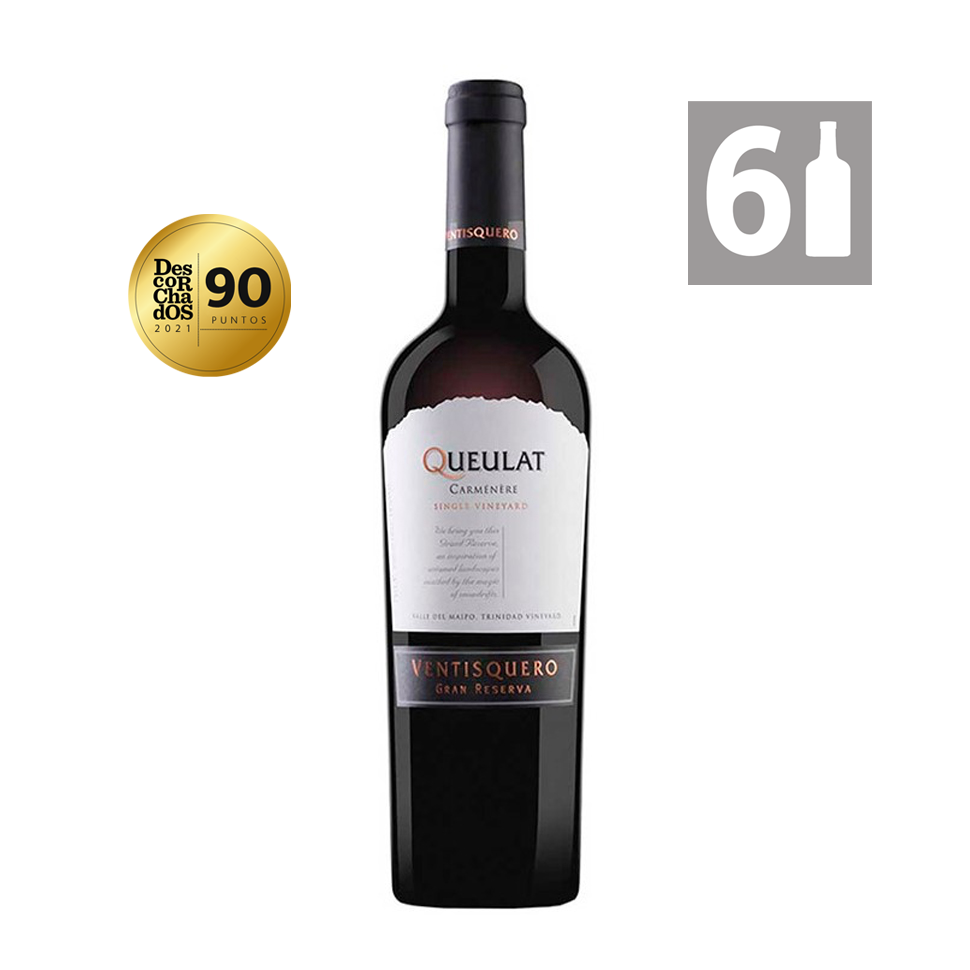 Pack 6 Queulat Syrah Gran Reserva