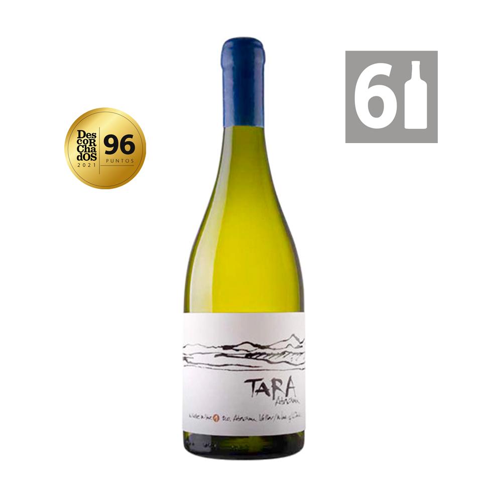 Pack 6 Tara White Wine 1 Chardonnay Grandes Vinos