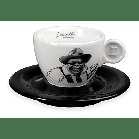 6 Tazas Cappuccino Lucaffé Mr Exlusive (6 unidades)