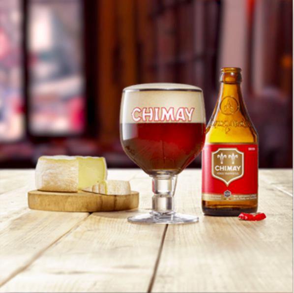Pack 24 Cerveza Chimay Rouge 330 ml - Bélgica